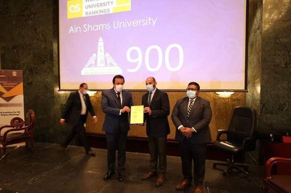 وزير التعليم العالي يشهد احتفالية تكريم الجامعات المدرجة بتصنيف QS لعام 2022 ويفتتح ورشة عمل حول تصنيف الجامعات المصرية